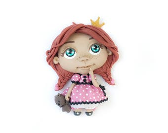 The Redheaded Princess Magnet