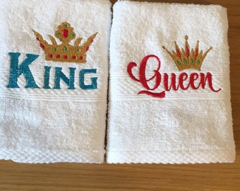 Queen No Crown embroidery design