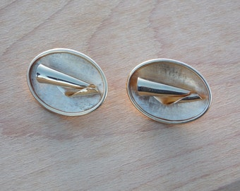 Vintage Mid Century - Modernist Style Earrings by Sarah Coventry