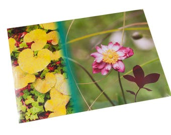 Yellow rose flower and Ivy placemat