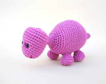 Knitted animal Dinosaur stuffed Crochet toy for kids Gift toy for boy Cotton toy amigurumi Safe toy Dinosaur decor toy Plush animal Soft toy