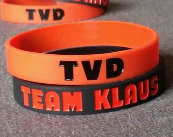The Vampire Diaries - Team Klaus Silicone Wristband