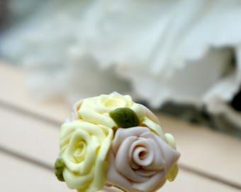 Yellow Flowers ring