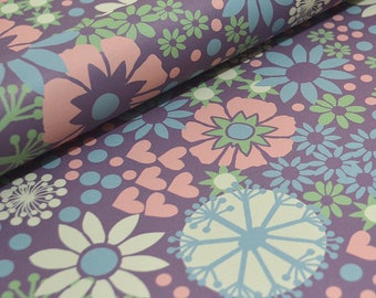 Decorative Floral  Paper - Ditsy Flowers and Hearts
