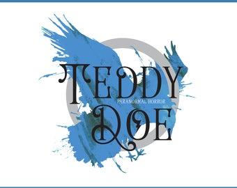 Premade Logo Design | Business Card | Monogram - Teddy Blue