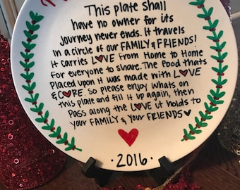 The Giving Plate / Giving Plate / Christmas Cookies / Cookies Plate / Cookies / Santa Cookies
