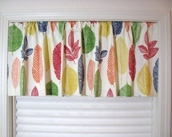 Richloom Rynell Valance Kitchen Curtain Kitchen Valance Modern Valance 50X12 50X14 50X16 50X18