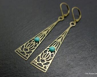 Arthemis, art deco earrings art deco earrings