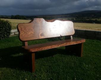 Douglas garden bench