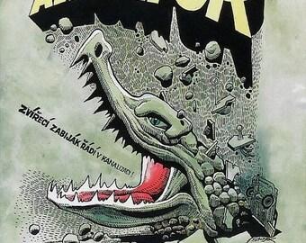 Spring Sales Event: Alligator Movie POSTER (1980) Cult/Horror