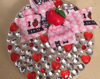 Apple Hello Kitty keepsake/jewelry/trinket box