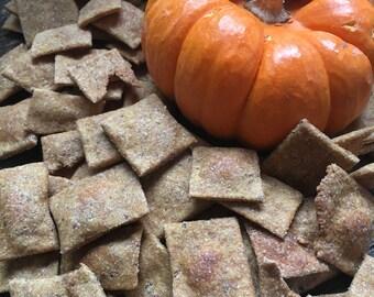 Small: Pumpkin Flax Dog Treats