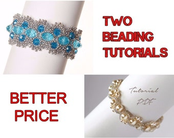 Beading Tutorials and Patterns, Beading Bracelet Tutorials, Beading Bracelet Patterns, Beadweaving Tutorials, Peyote Bracelet Patterns