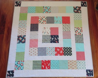 Homemade - Daysail Baby Quilt
