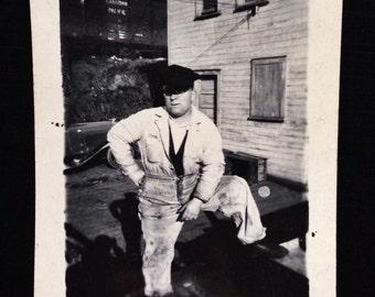 Original Vintage Photograph | Dirty Work