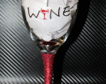 They whine I wine glass