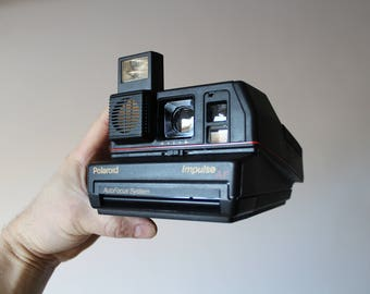 Vintage Polaroid Impulse Portrait 600 AF Camera, Instant photo, Polaroid Camera, Vintage Camera,Retro Camera,Retro photo Camera,Polaroid 600