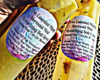 Mermaid Hair ~ Organic Texturizing Salt Spray ~ Natural Hair Care for Mermaids ~