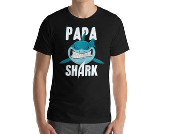 Dad Shirt - Papa Shark - Shark Shirt - Shark - Shark Birthday - Shark Week - Sharks - Shark Tshirt - Shark Birthday Shirt - Shark Party
