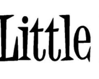 daddy's little princess vinyl decal/sticker