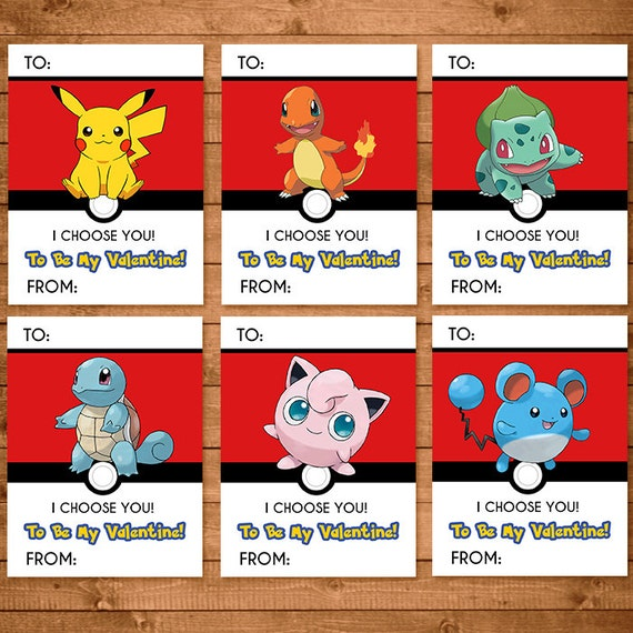 Unusual image with pokemon valentine cards printable