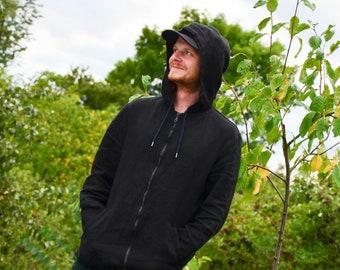 100% hemp hoodie