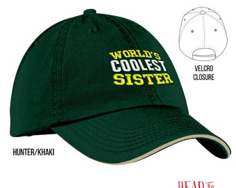 Cool Sister, Sister Gift, Sister Hat, Sister To Be, Sister Birthday, Birthday Gift For Sister, Best Sister, Awesome Sister