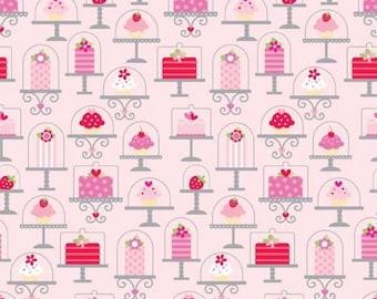 Riley Blake sweet cakes C3140 pink