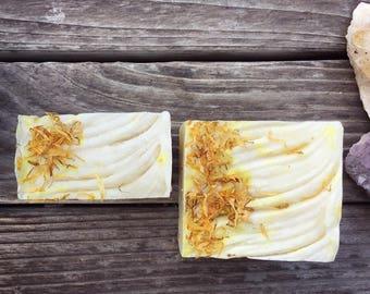 Sandalwood & Calendula Soap