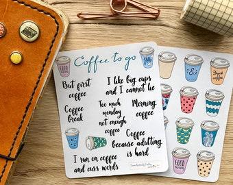 Sewing, Planner Stickers, TN, Filofax, Erin Condren