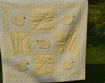 Yellow Duck Quilt