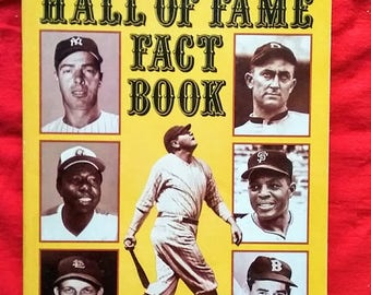 Vintage Baseball The Sporting News Hall of Fame Fact Book