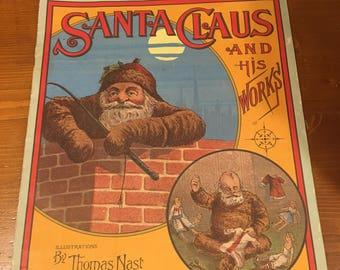 Thomas Nast Santa Claus Book