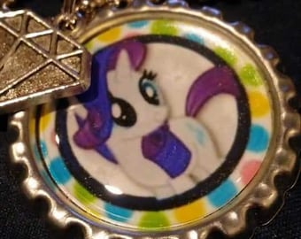 My Little Pony Rarity Necklace