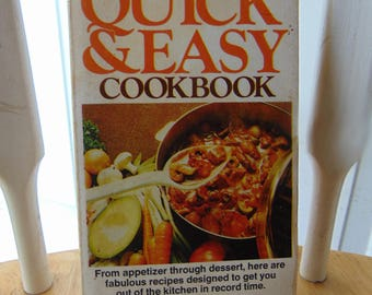Quick & Easy Cook Book, 1978 , Joan Savin , Paperback