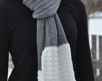 Hannah Knit Scarf // Fall and Winter Accessory
