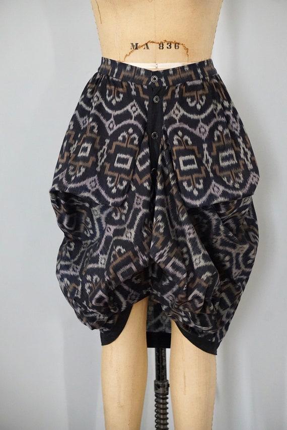 Ikat Avant Garde Draped Xiao Skirt Studio 5nqx0IqHR