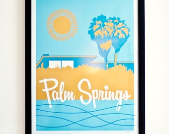 Palm Springs Supersized Travel Poster