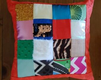 Sensory, Tactile Cushion, Soothing, Calming Cushion, Autism Pillow, Dementia Pillow, Waldorf Steiner Tactile Cushion