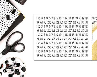 Date Cover Add-On - Font I