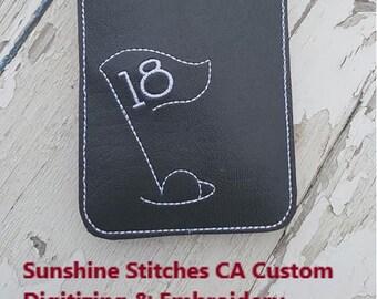 SSCA Pocket Size Notebook Golf