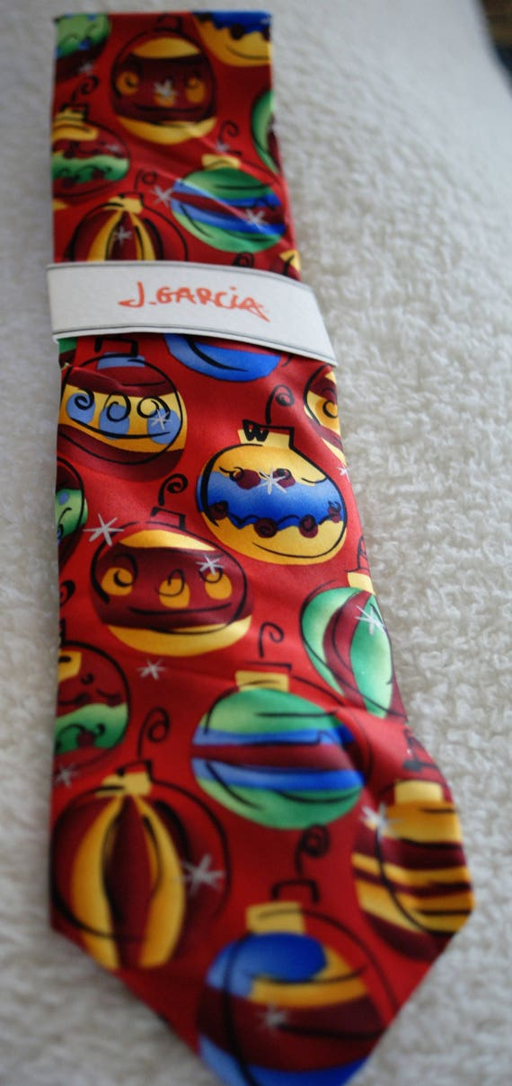 Items similar to Jerry Garcia Christmas Tie, New Year gift ...