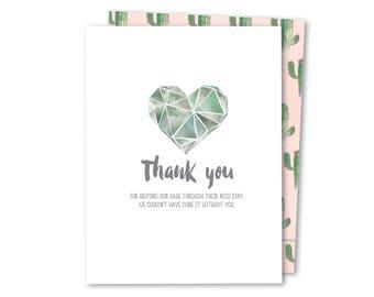 NICU Thank You - NICU Noble Greeting Card