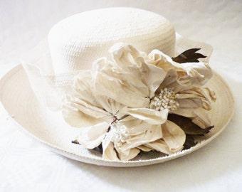 Damenhut Designer Hut Hochzeit Braut Accessoires