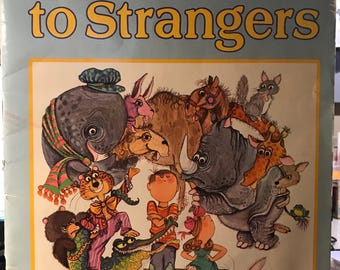 A Golden Book Paper Back Never Talk to Strangers 1967