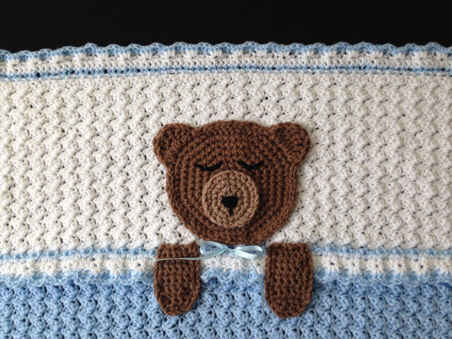 Enchanting Teddy Bear Afghan Crochet Pattern Image Collection ...