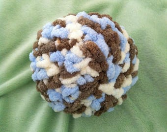 Baby's First Ball - Super Soft Mom Made Plush Toy, Baby's First Christmas Gift