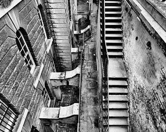 Somerset House Stairs Photographic Print