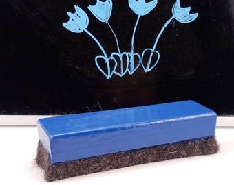 True Blue Large Chalkboard or Dry Erase Eraser FI0324