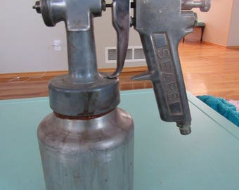 Vintage Metal Sears Paint Sprayer Free Shipping